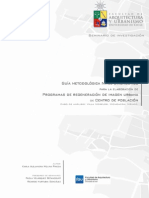 Guia Metodologica Para El Diagnostico de Regeneracion de Imagen Urbana
