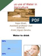 Water Scenario in Punjab (India)