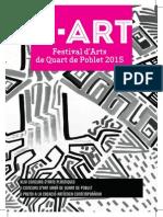 Q-ART 2015. Festival d'Arts de Quart de Poblet