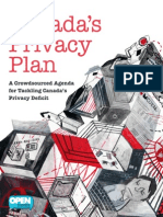 Open Media - Canada's Privacy Plan - A Crowdsourced Agenda for Tackling Canada's Privacy Deficit