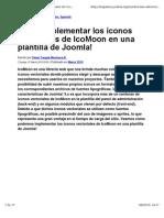 Joomla_ImplementarIconos