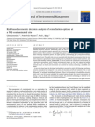 Risk-based Economic Decision Analysis of Remediation Options at a PCE-contaminated Site