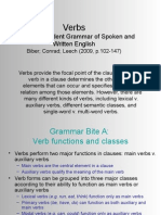 Chapter 5 - Verbs