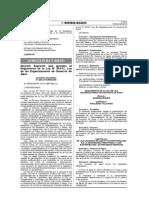 Reglamento de La Ley 30157 de Organizaciones de Usuarios de Agua
