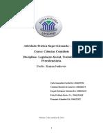 ATPS de Legislação (1)