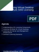 Microsoft VDI Licensing Presentation