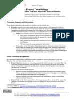 WP1042 Outputs Outcomes Benefits