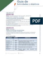 Guia de Actividades y Objetivos Unidad 1