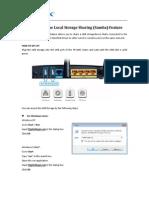 Archer C20i V1 Storage Sharing Application Guide