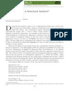 Surat Al-Baqara a Structural Analysis