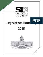 Legislative Summary 2014 ONLINE ONLY