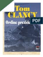 Tom Clancy - Ordine Prezidentiale Vol 1