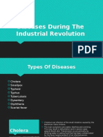 diseases during the industrial revolution