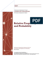 Relative Frequency and Probability