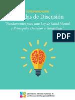 Sistematizacion Jornadas de Discusión