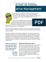 Discussion Guides for Creating a Teacher-Powered School:Collaborative Management
