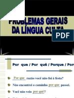 Problemas Gerais Da Lingua Culta