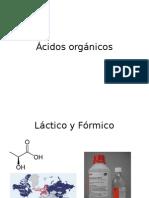 Ácidos orgánicos