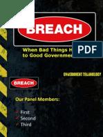 UT DGS 15 Presentation - Breach - Friedman