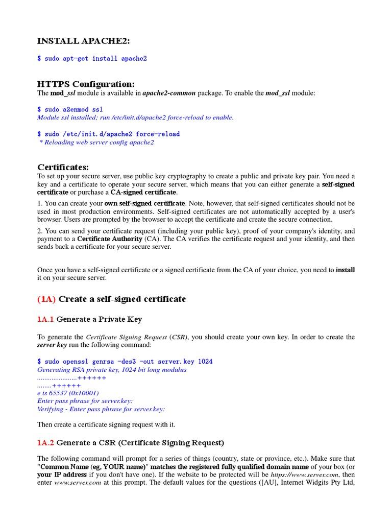 Opensslpdf Public Key Certificate Public Key Cryptography