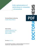 Bioreceptivity study