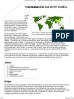 Convenzione Internazionale Sui Diritti Civili e Politici