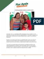 Buscará Flor Ayala garantizar lactancia a recién nacidos