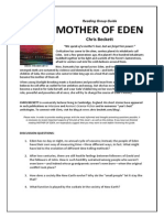 Book Club Discussion Guide to MOTHER OF EDEN