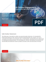 Florida DGS 15 Presentation - The Power of Citizen Engagement - Amalfi