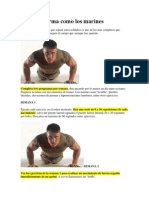 Ponte en Forma Como Los Marines