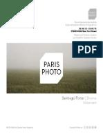 Rolf Art | Santiago Porter | Paris Photo L.A. | Bruma | solo project |