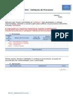 MIT010 - Validacao de Processos