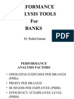 Performance of Bank