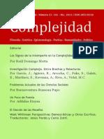 Complejidad Revista Articulo Rosario