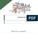 Corpus Linguistics Presentation