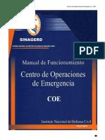 Manual de Funcionamiento COE 2011