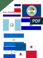 Banderas Centroamerica.