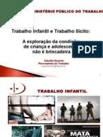 Palestra Trabalho Infantil Curitiba