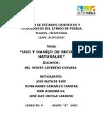 Areas Naturales Protegidas de Mexico.docx