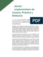 Anexo - Módulo 01 - Material Complementario de Lectura, Práctica y Reflexión - Módulo 1