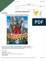 Tutorial SimCity 4