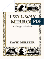 Two Way Mirror by David Meltzer