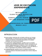 Generador de Excitación Independiente