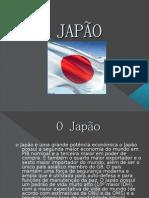 o Japão e Uma Grande Potência Económica