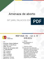 Amenaza de aborto PJPE C.pptx
