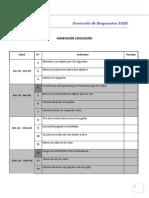 Protocolo Respuestas