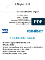 A Digital NHS