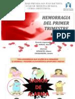 Seminario Hemorragia 1er Trimestre Última