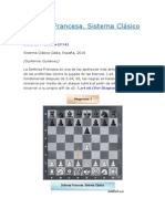 Defensa Francesa. Sistema Clásico.docx