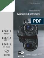 canon - hfr56-57-506- manuale di istruzioni - italiano